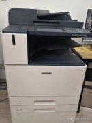 为什么打印机打出来是空白的(解决打印机蓝屏半截和中间空白)