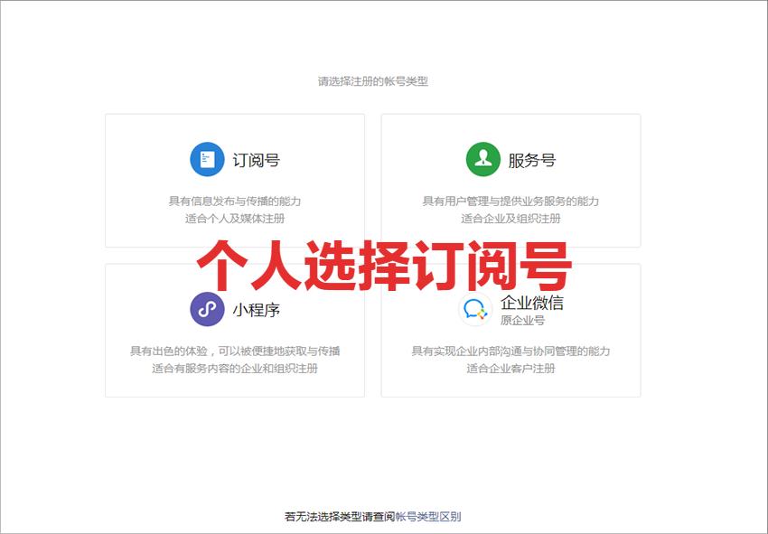 无手机号怎么注册微信(微信个人公众号(订阅号)注册流程)(2)