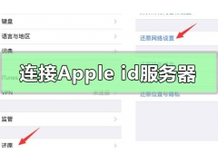苹果手机连接服务器时出现问题(连接apple id服务器出错怎么办)