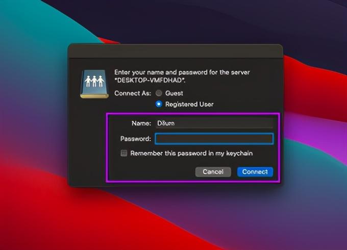 mac访问windows共享文件夹(如何设置本地文件夹共享)(8)