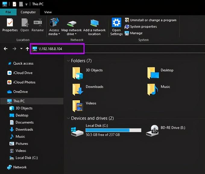 mac访问windows共享文件夹(如何设置本地文件夹共享)(14)