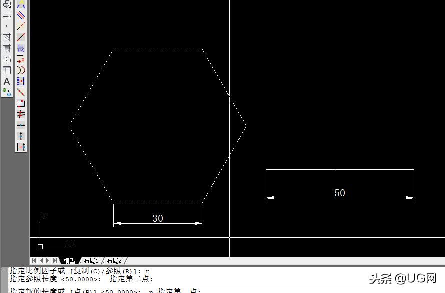 cad中放大的快捷键(如何正确的使用CAD的缩放命令)(6)