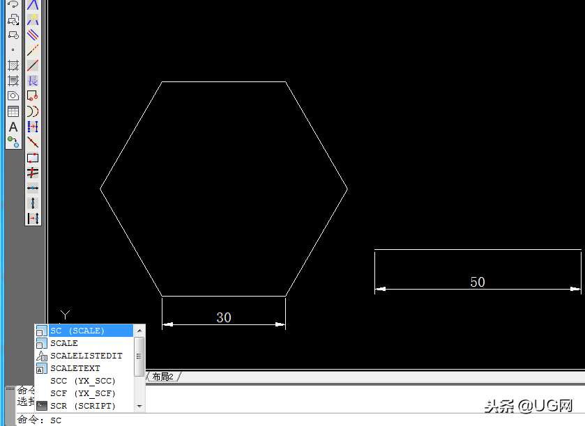 cad中放大的快捷键(如何正确的使用CAD的缩放命令)(2)