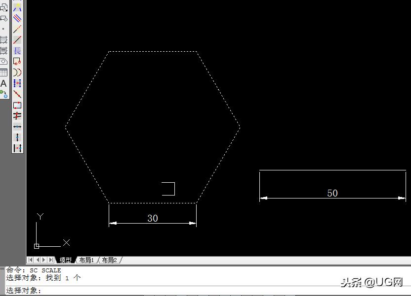 cad中放大的快捷键(如何正确的使用CAD的缩放命令)(3)