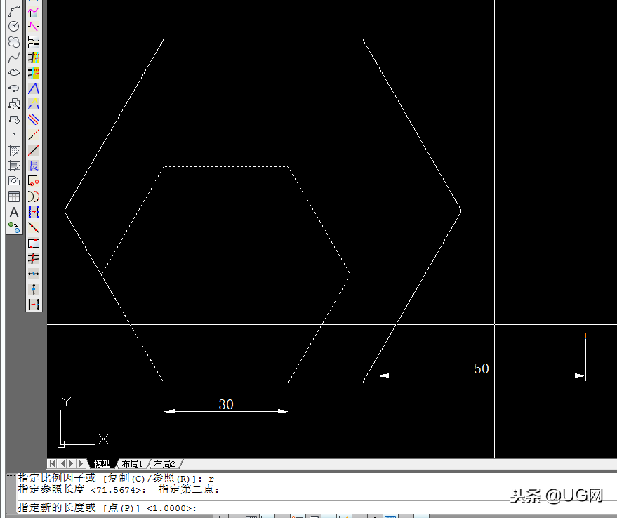 cad中放大的快捷键(如何正确的使用CAD的缩放命令)(5)