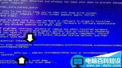 电脑开机蓝屏故障提示中有NTFS.sys文件怎么办?