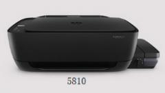 惠普5820对比5810连供打印一体机有什么区别?